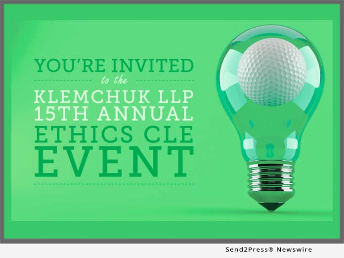 Klemchuk Ethics CLE Event
