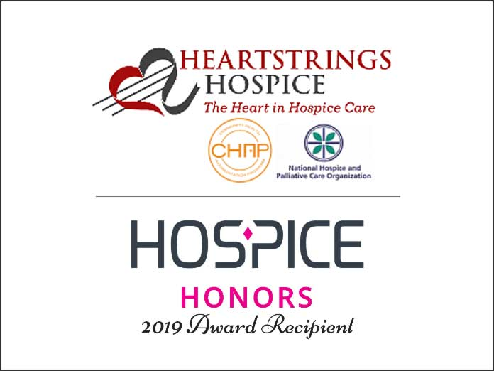 Heartstrings Hospice - Honors 2019