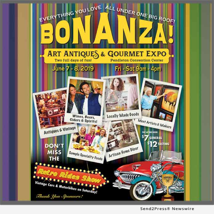 News from Bonanza Art Antiques and Gourmet Expo