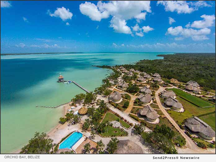 Orchid Bay, Belize -Aerial View