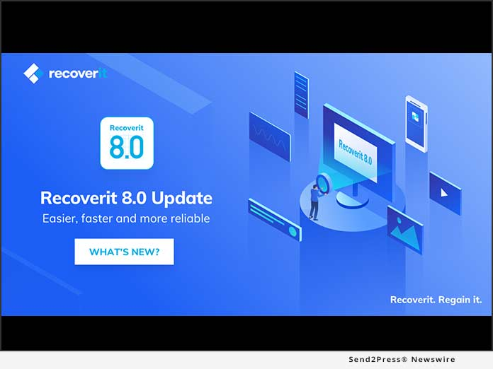 Recoverit 8.0 Update