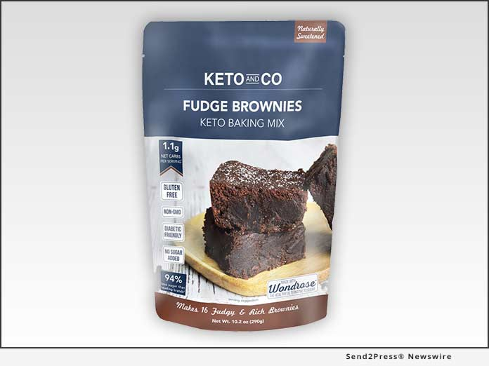 Keto and Co Fudge Brownies