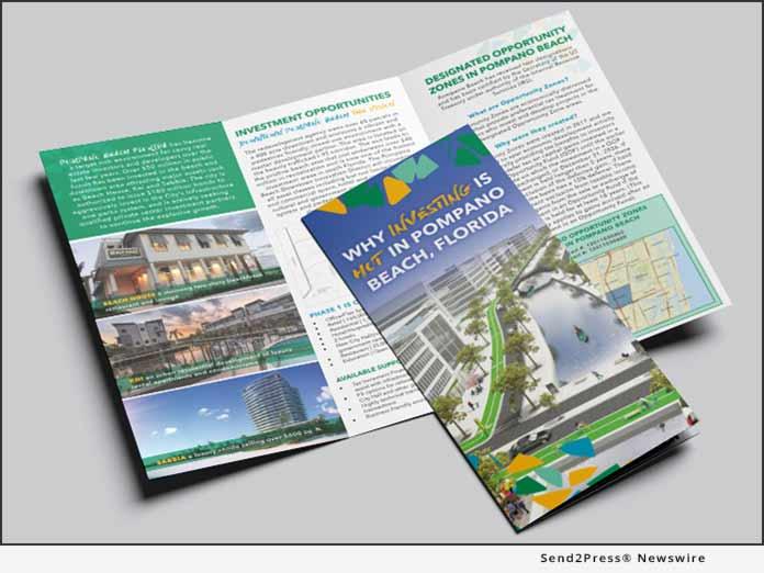 Pompano Beach trifold brochure