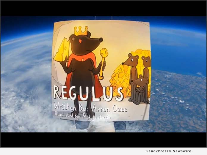 REGULUS by Aaron Ozee - in space