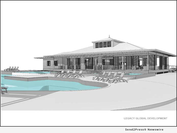 Rendering: Beach Club at Orchid Bay