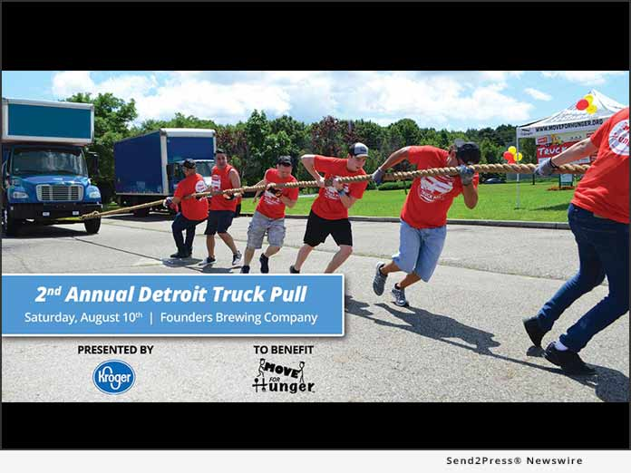 Detroit Truck Pull - Move For Hunger