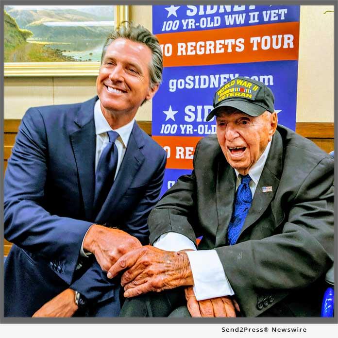 Sidney Walton meets with CA Gov Newsom July 29