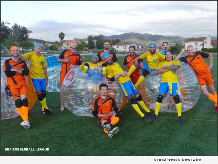 BBA Bubbleball League is Coming to Southern California