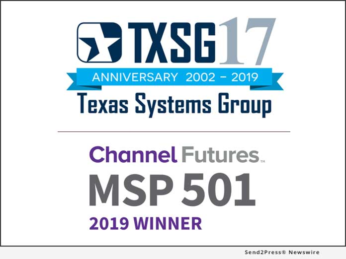 Texas Systems Group - MSP 501 2019 Winner