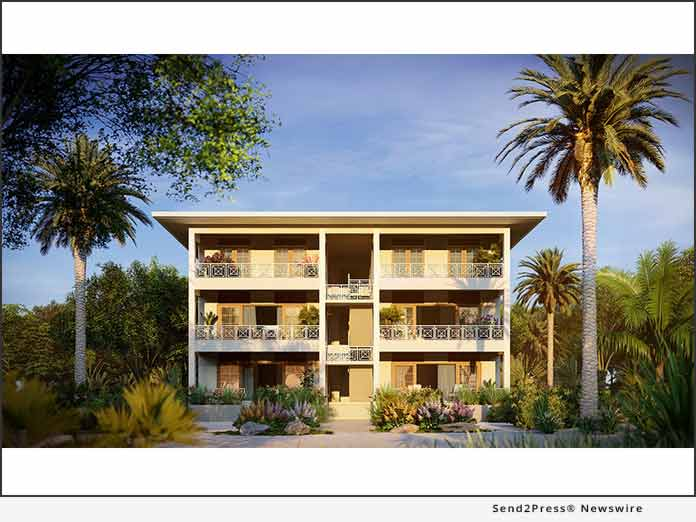 Condo Rendering, Belize - Legacy Global Development