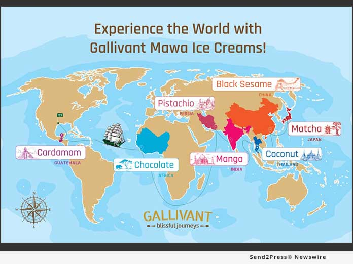 Gallivant Mawa Ice Creams - map