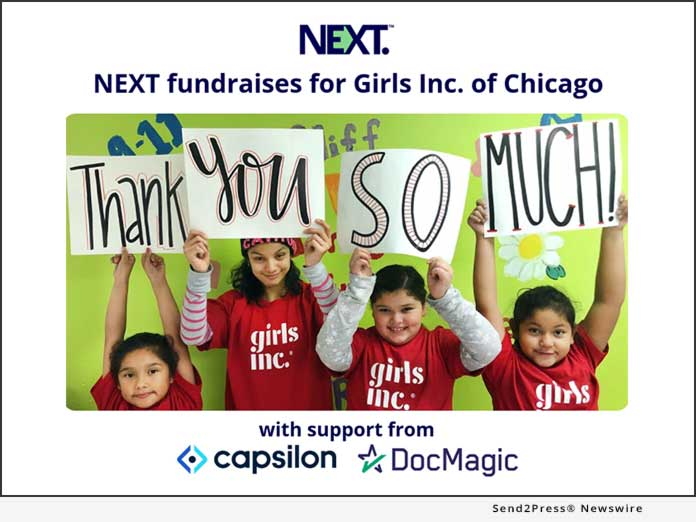 NEXT fundraises for Girls Inc of Chicago