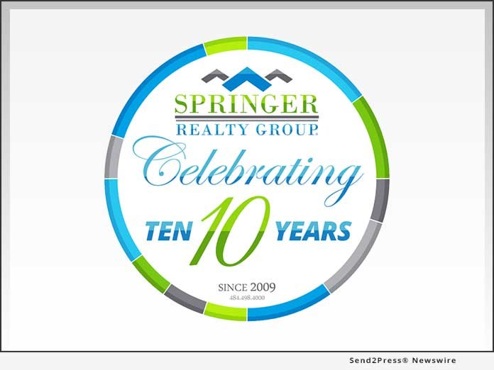 Springer Realty Group - Ten Years