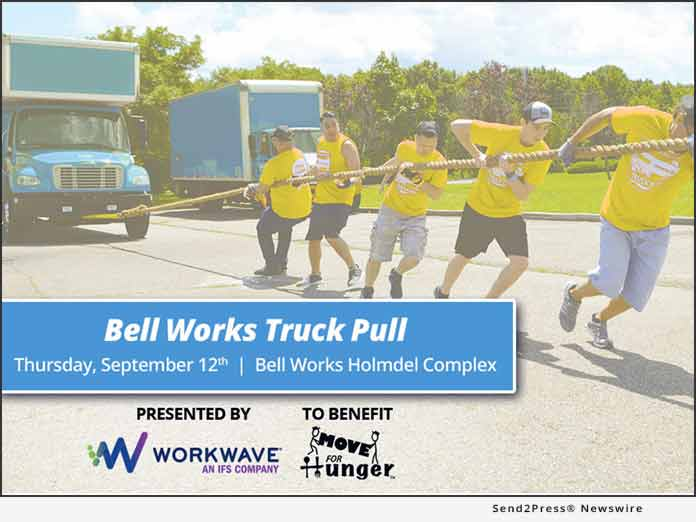 Bell Works Truck Pull - Move For Hunger