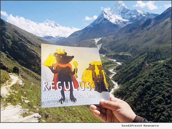 REGULUS book at Mount Everest