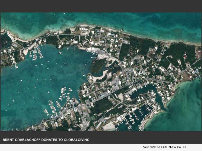 Hurricane Dorian aerial view - Brent Grablachoff
