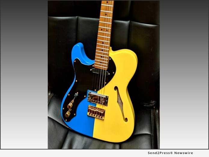 Ryan Chernin custom guitar