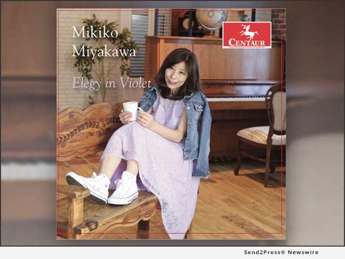 Elegy In Violet by Mikiko Miyakawa