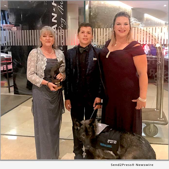 2019 Hero Dog of the Year Awarded to Guardian Angels Medical Service Dogs, Alice