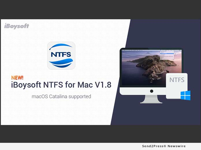 iBoysoft NTFS for Mac v1.8