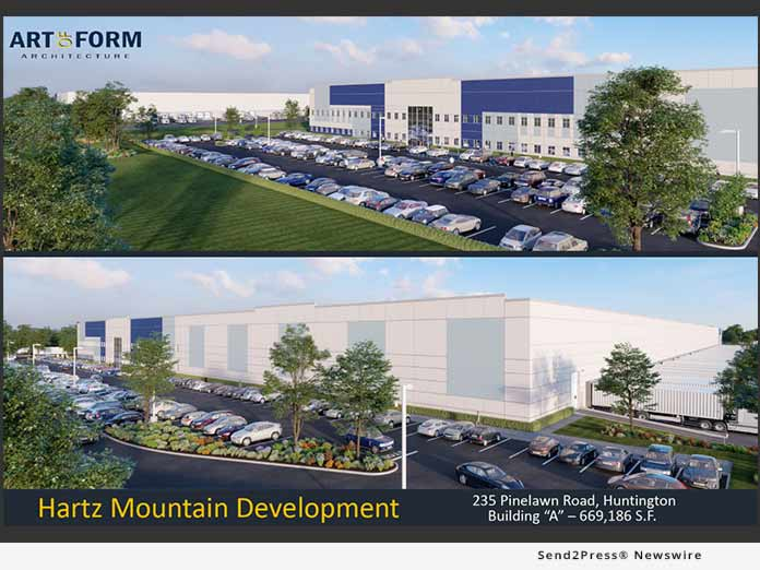 Hartz Mountain Industries development