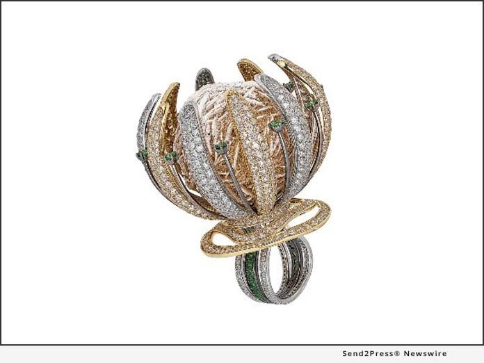 The Shimansky Desert Rose Ring