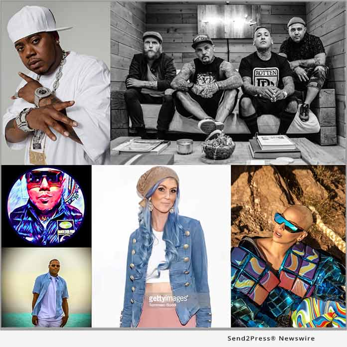 Twista, Veronica Vega, DJ G-Love, Crazy Town X with R1ckOne and more to Perform at 'Soundwaves 360 Music Event'
