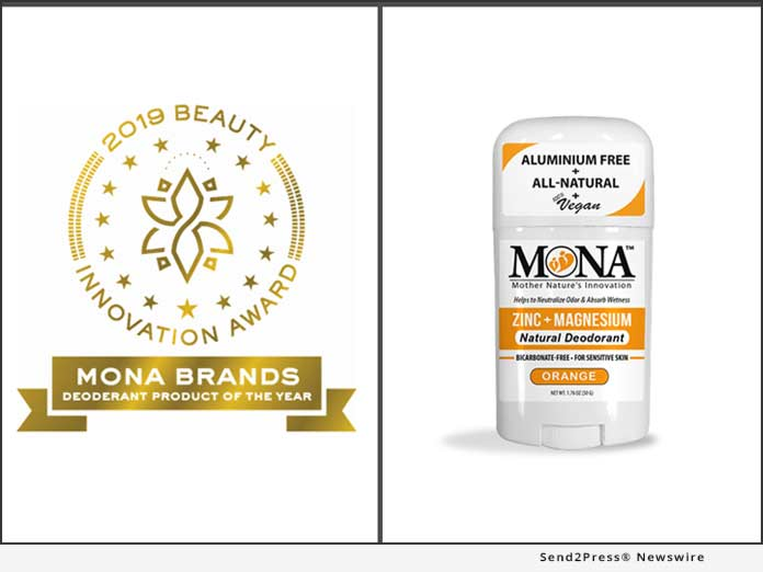 MONA Brands - Deodorant Product Of The Year