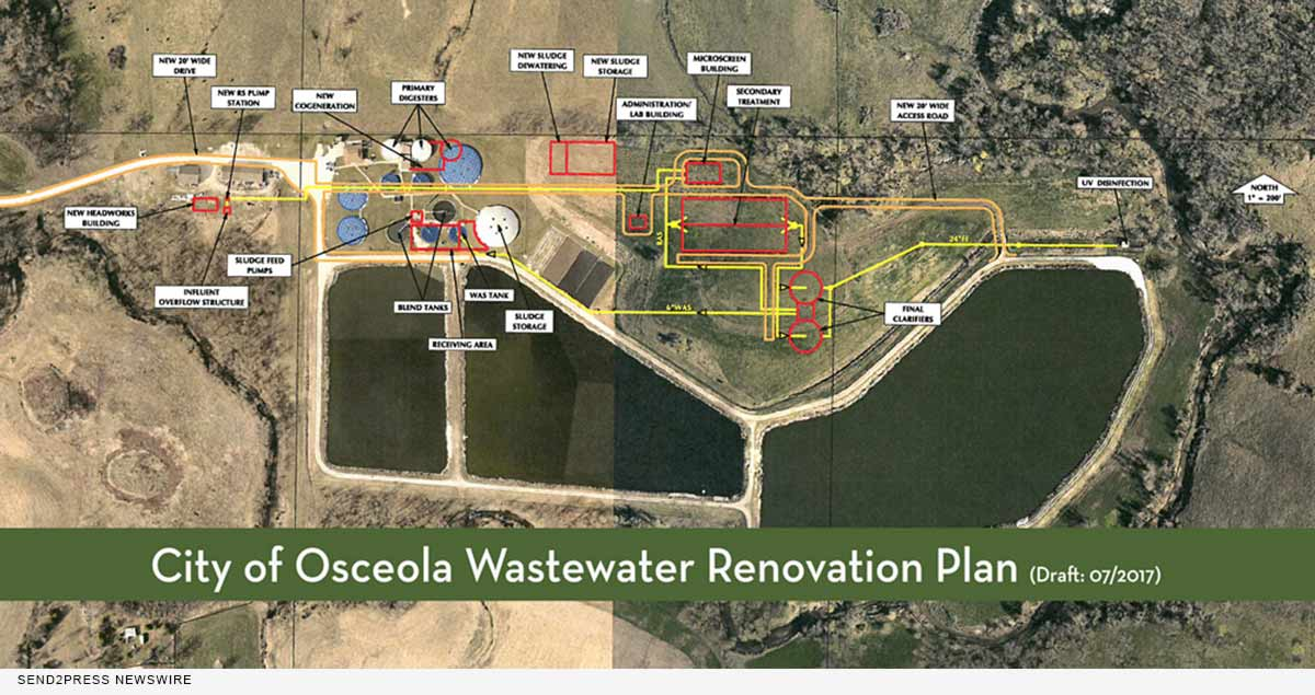 City of Osceola Wastewater Renovation Plan
