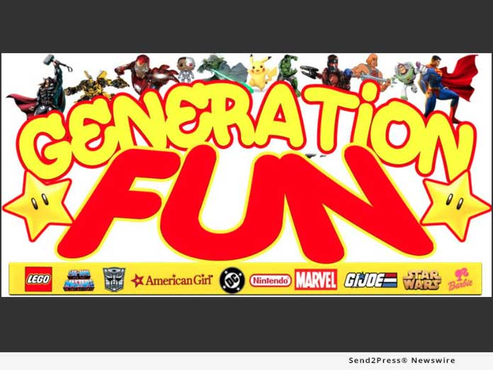 News from Generation Fun Toy Store