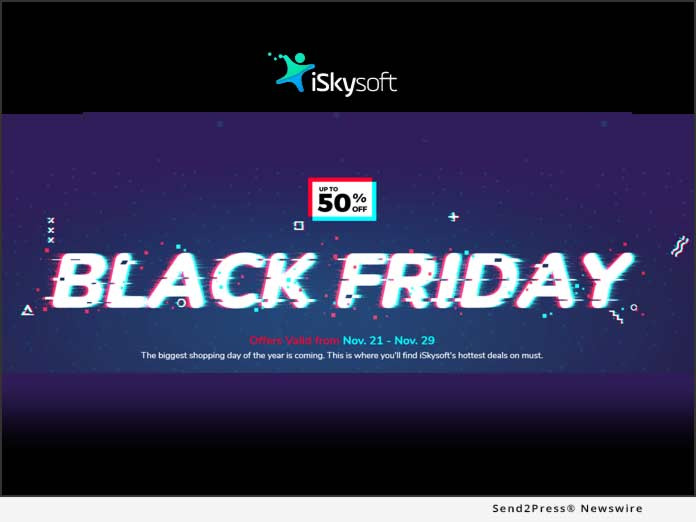 iSkysoft Black Friday 2019