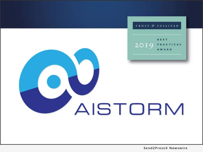 AISTORM - Frost and Sullivan Award