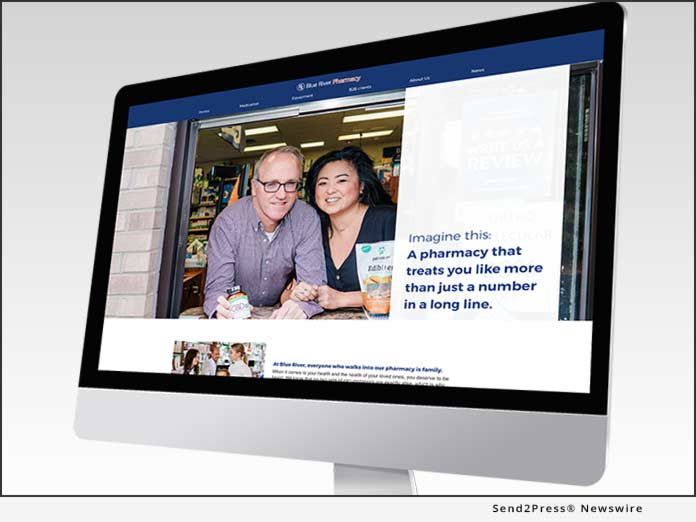 Blue River Pharmacy - Website Redesign