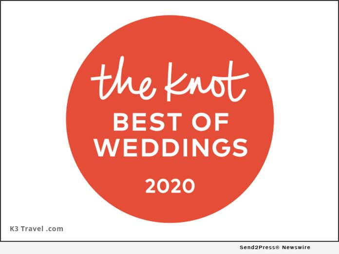 K3 Travel - The Knot Best of Weddings 2020