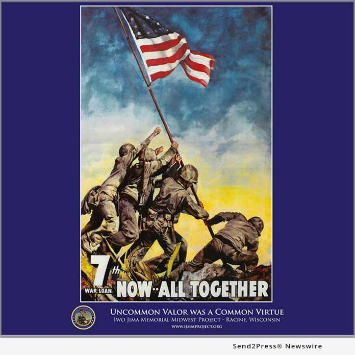 Poster - Iwo Jima Memorial Midwest Project