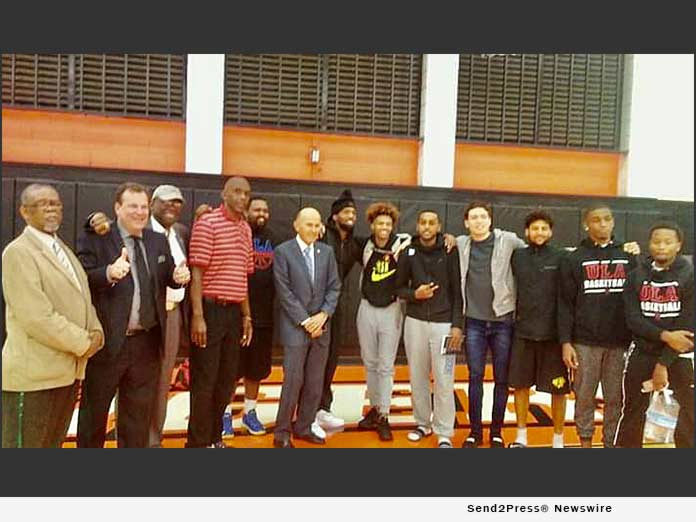 ULACD team after victory at Occidental College