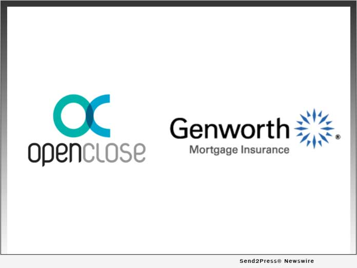 OpenClose and Genworth Mortgage Insurance