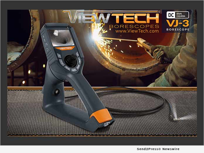 ViewTech Borescopes VJ-3 Dual Camera