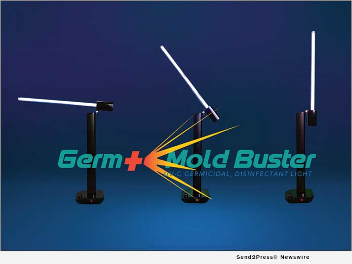 Germicidal and Disinfectant UV-C Lamp by Germ Mold Buster
