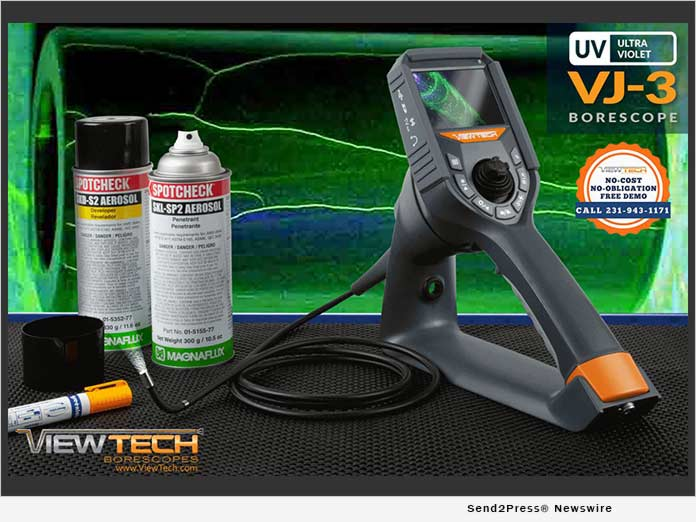 ViewTech Borescopes VJ-3 UV Ultra Violet
