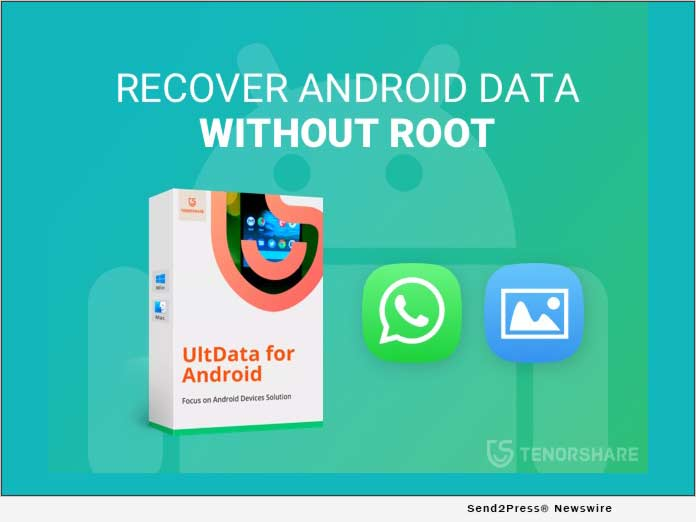 Tenorshare Updates UltData for Android to Recover Deleted WhatsApp and Photos Without Root