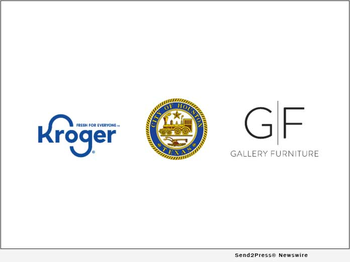 Kroger, City of Houston, and Gallery Furniture