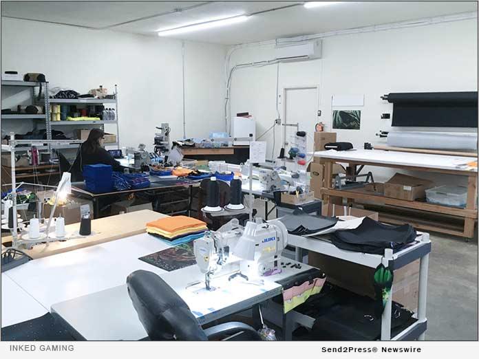 Inked Gaming's single production warehouse