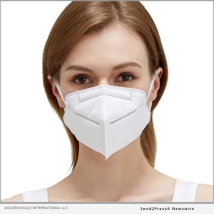 KN95 disposable mask from Golden Eagle International LLC