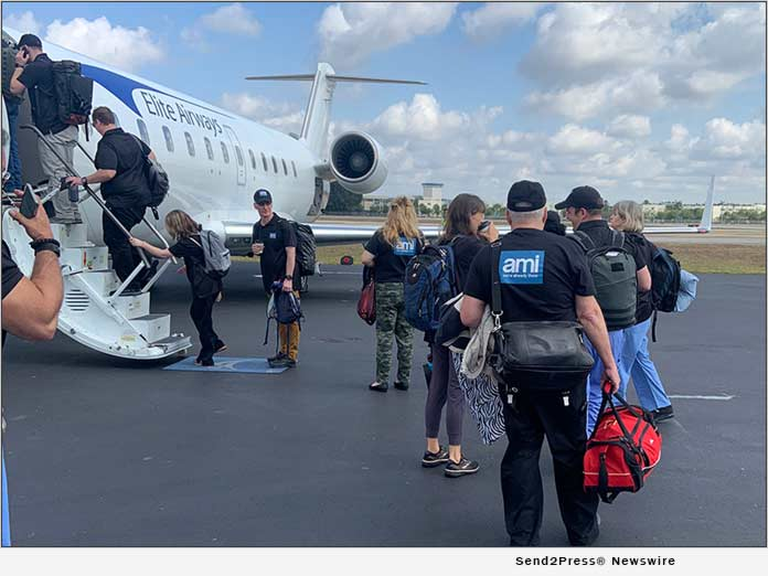 AMI Expeditionary Healthcare Deploys to St Maarten to Assist COVID-19 Victims