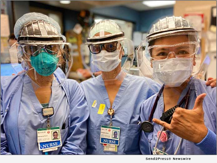 Nurses with TrueHero Masks