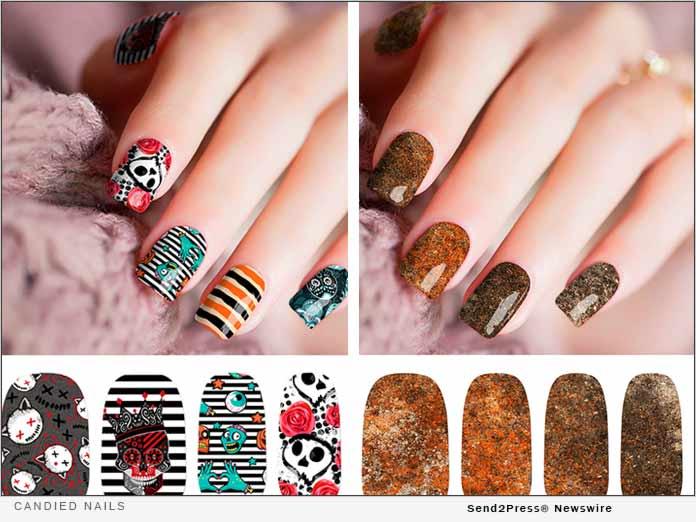 Candied Nails - nail art