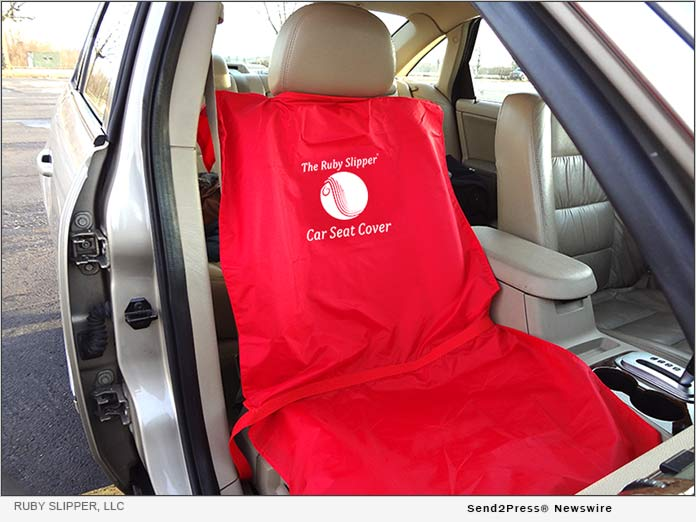 Ruby Slipper Car Seat Cover