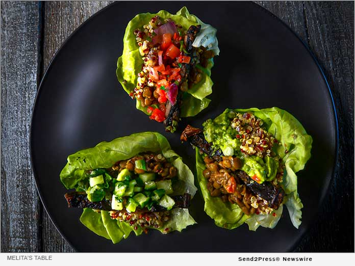 Melita's Table - Butter Lettuce Shell Vegan Tacos