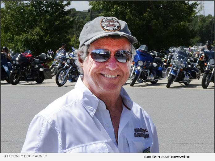 Bob Karney, motorcycle accident attorney